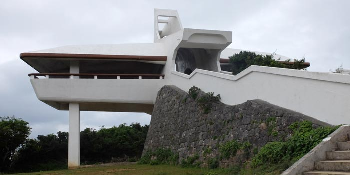 伊良部島の牧山展望台