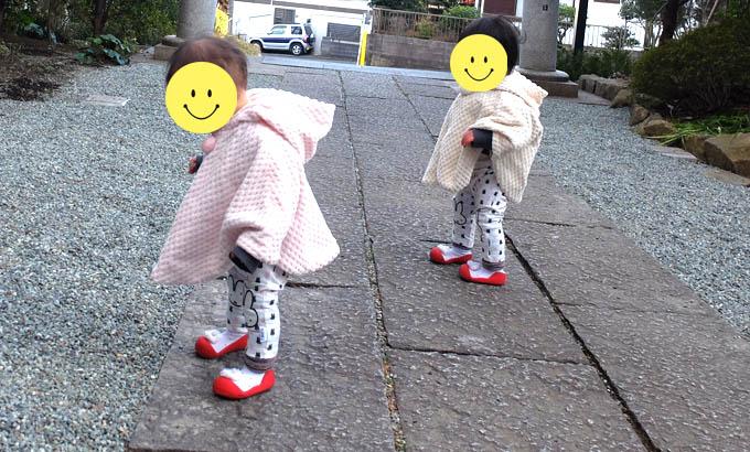 【私の口コミ】アティパス(Attipas)の外履き:1歳2ヵ月
